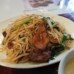 中国飯店 瑞鳳 - 韮菜猪肝(ニラレバ)