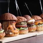BAR & GRILL BURGER CHOP STEAK HAMBURGER - 信州黒毛和牛Beef100%プレミアムハンバーガー
