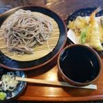 箱根旧街道 石だたみ - 料理写真:天ぷらもり大盛り2019.12.14