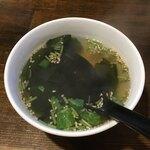 焼肉・ホルモン 激辛番長 - スープ