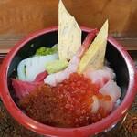 寿司のつしま - 料理写真:チラシ寿司 上生