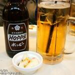 asakusaizakayadon - ホッピーセット+つきだし(ポテサラ)