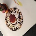 オーベルジュ・オー・ミラドー - 料理写真:富士金華のロティ シェフの特製タプナード添え