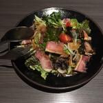 和風創作料理ダイニング 颯々 - 黒鶏が冷凍なのが残念でした。