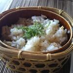 伊豆高原 城ケ崎温泉 花吹雪 - 穴子の炊き込み