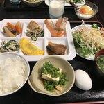 君田温泉森の泉 - 料理写真:朝食バイキング