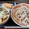 小平うどん - 料理写真:肉増しうどん(900円)+味付たまご(100円)+かしわ天(150円)