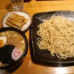 天水らーめん - つけ麺(大盛)¥720 +メンマ¥100