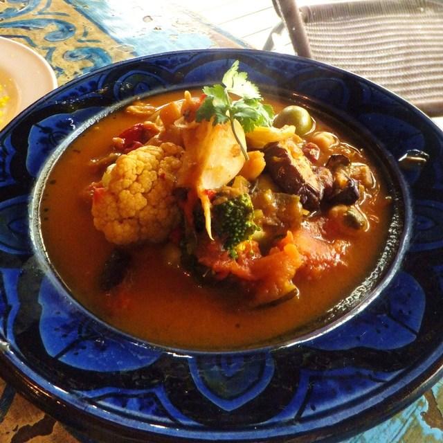 タベラ - モロッコ風 野菜のクスクス