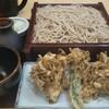 阿づ満庵 - 料理写真:舞茸天せいろ(900円税込)