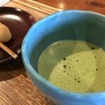 楽風 - 抹茶と和菓子のセット
