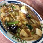 東華 - 料理写真:中華丼〜少し水っぽい