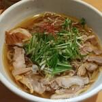 肉そば鶏中華最上川 - 肉そば(温) 780円