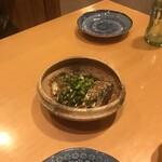 寿し栄 - 胡麻鯖!