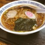 亀印食堂 - ラーメン500円