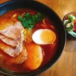 Cafe ポカラ - カレーうどん:900円