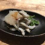 味酒 かむなび - マキノ氷魚の釜揚げ