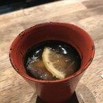 味酒 かむなび - 赤海鼠とルレクチェの酢の物