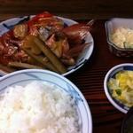 12178077 - 金目鯛カブト煮定食
