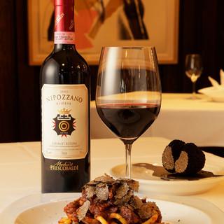 常時イタリアンワインが400種