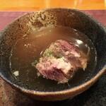 ステーキハウス バロン - テールスープ
