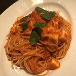 Italian Kitchen BUONO - よじゅえもんのモッツァレラを使ったトマトソースパスタ、絶品です