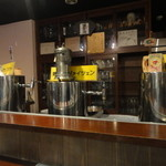 BIER REISE '98 - カウンターにあるビールサーバー