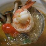 タイ国料理 タイバンコク - エビトムヤム春雨