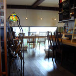 クレープリー カフェ 樹水 - 落ち着いたインテリアの店内です☆ちなみに店内は土足禁止です♪