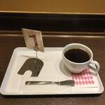 ちとせやCafe - アメリカンモーニング300円