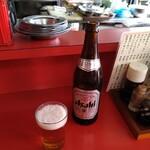 来々亭 - ドリンク写真:アサヒちょう渇き中瓶が、あったよーーーーーっ(ばく