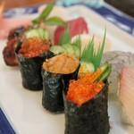 ときわ寿司 - 料理写真:特上握り