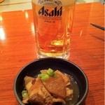 きんちゃん酒場 - お通しとビール