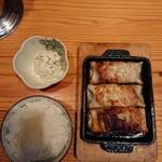 121810577 - 餃子定食