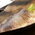 串焼き ごう - 料理写真:炎の炙りしめさば
