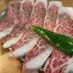 肉酒場 - リブロースのカブリ¥1,408
