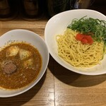 121814699 - 6周年限定第2弾 カレー担々つけ麺