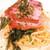 ヴェルドゥーラ - ベーコンとほうれん草のクリームパスタ!毎回コレ!
