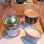 アインソフ ギンザ - ヴィーガン・ティラミスセット(オーガニック・穀物コーヒーに豆乳)