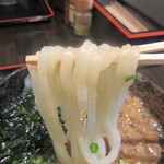 うどん仁兵衛 - 麺は透き通ったツルツルもちもちの中細麺♪
