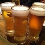 ダンチキンダン - ジョッキ生ビール(呑み放題)