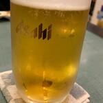 鳥男 - 生ビール