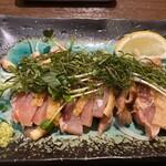 Torisei - とり塩わさびのタタキ 620円