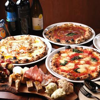 ◆選べるピザのパーティプラン
