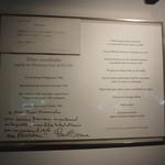 レストラン ひらまつ - ポール・ボギューズのレター