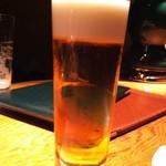 中ちょう倶楽部 - 生ビール(キリン一番絞り)600円