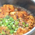ごちそう中華オキヤマ - 料理写真:山椒のしびれる辛さがクセになる「特製麻婆豆腐」