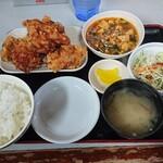 121839296 - ザンギ定食 B 930円税込