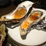 ほたる - 生牡蠣 生ウニ&いくら盛