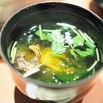 unagiwashokushirakawa - 肝吸い